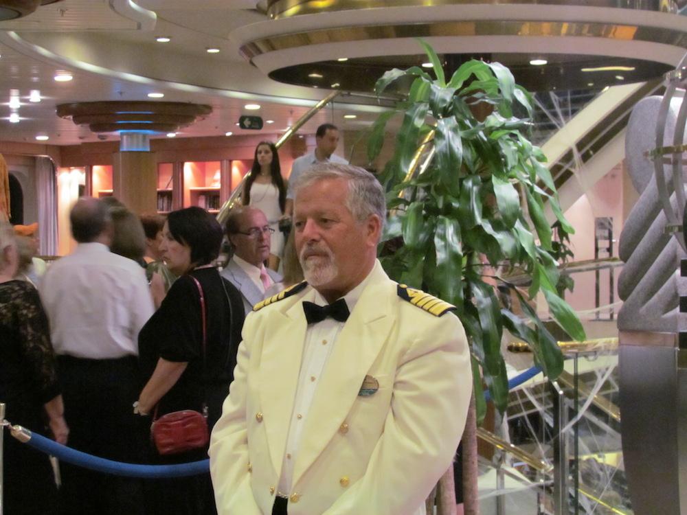 Captão do Majesty of the Seas
