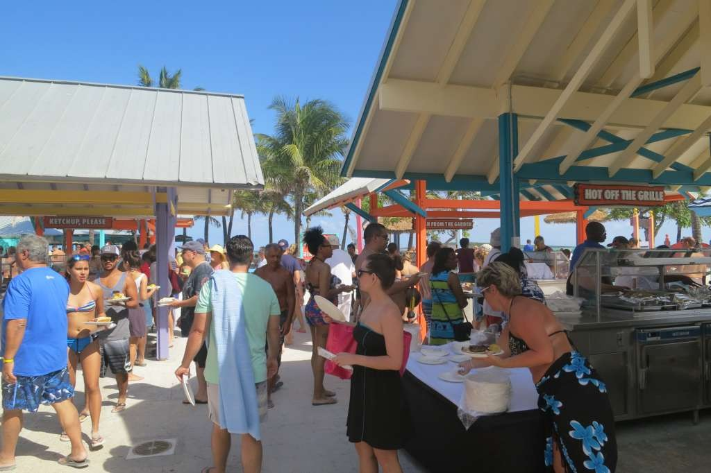 Almoço - CocoCay - Bahamas - Royal-Caribbean