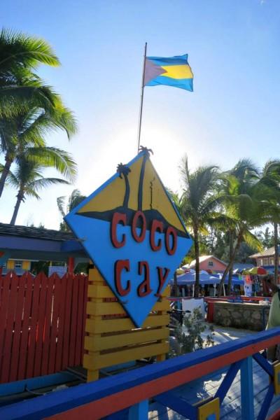 Chegada de CocoCay - Bahamas