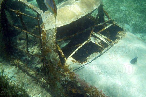 CocoCay - Avião Naufragado - Underwater Sunken Airplane