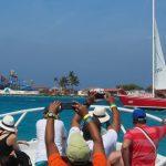 De Palm Island - Chegada a ilha de barco - 02