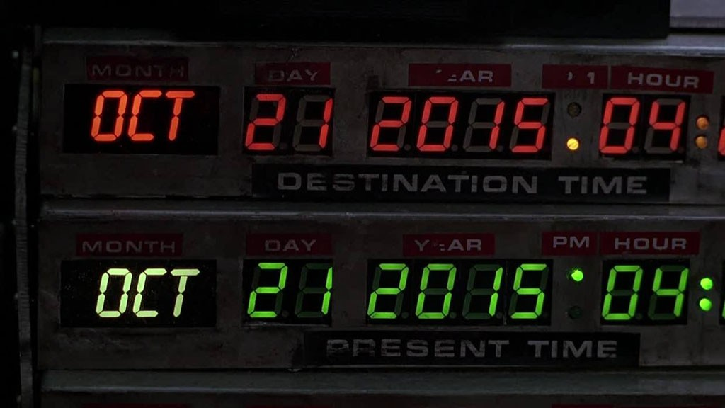 Back To the future II-10/21/2015