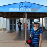 Traveling by car from Las Vegas to the Grand Canyon