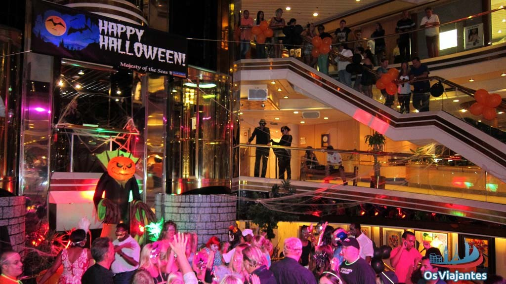 Festa de Halloween - Majesty of the Seas