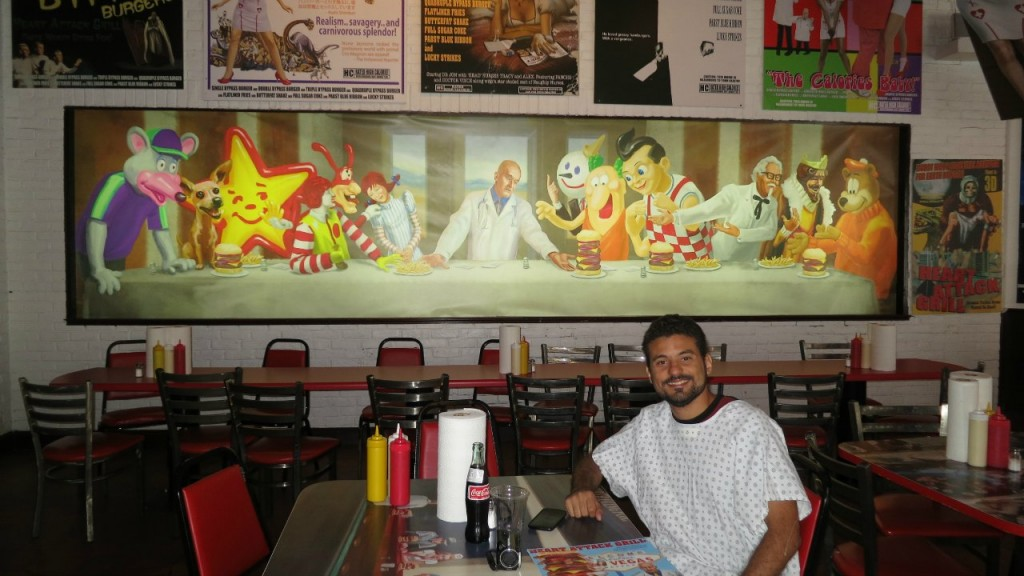 Interior do Heart Attack Grill