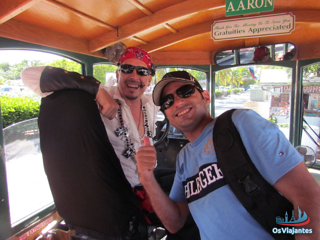 Key West - Old Town Trolley - Pirata