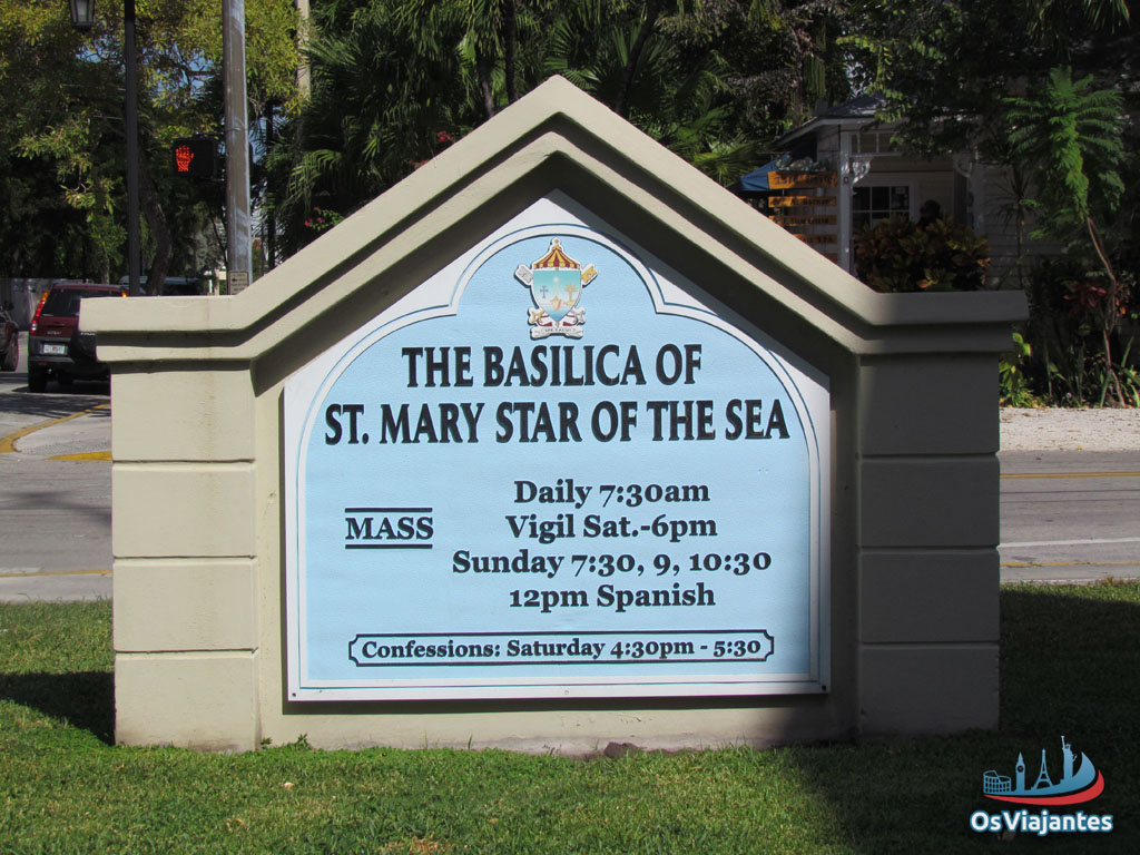 Basílica Saint Mary Star of the Seal - Key West