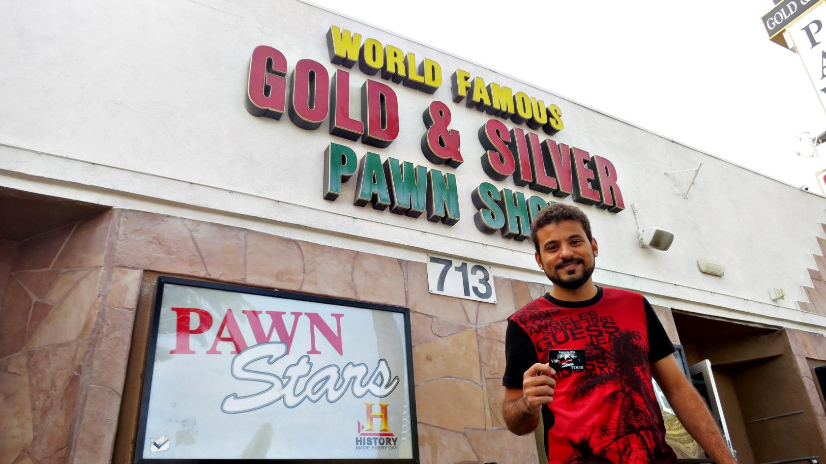 Fachada da Loja de Penhores do Trato Feito em Las Vegas