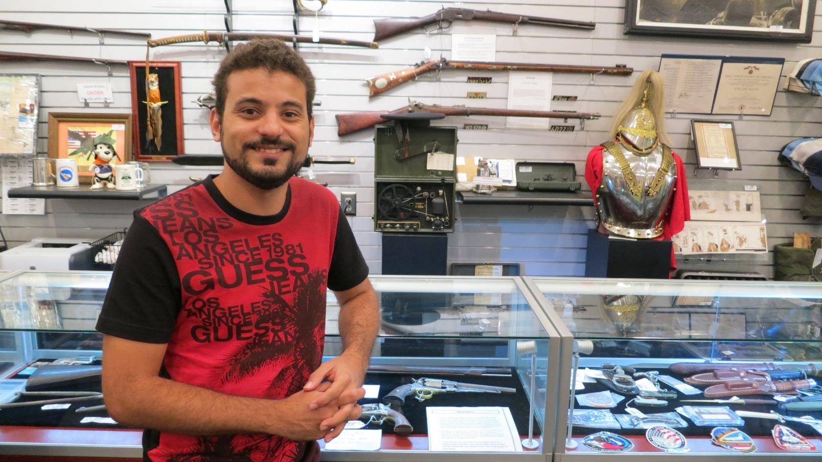 Armas da Loja de Penhores do Trato Feito em Las Vegas