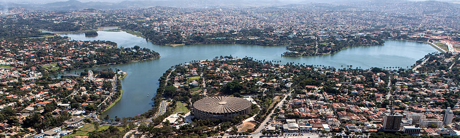 Panorama-Pampulha Lagoon