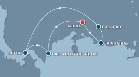 Itinerário - Cruzeiro Caribe