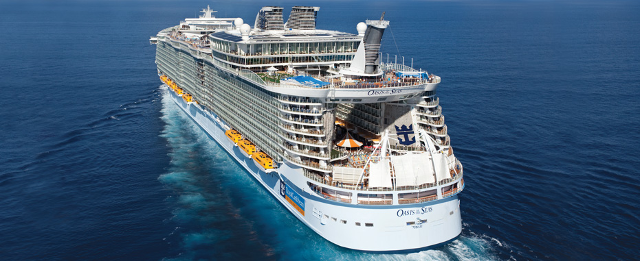 Oasis of the Seas-Royal Caribbean International. Photo: www.royalcaribbean.com.br