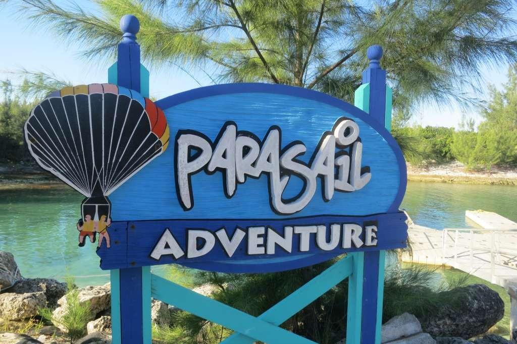 Parasail Adventure - CocoCay - Bahamas
