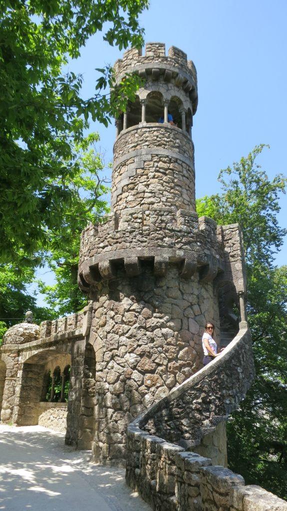 Torre da Regaleira - Quinta da Regaleira - Sintra -Portugal