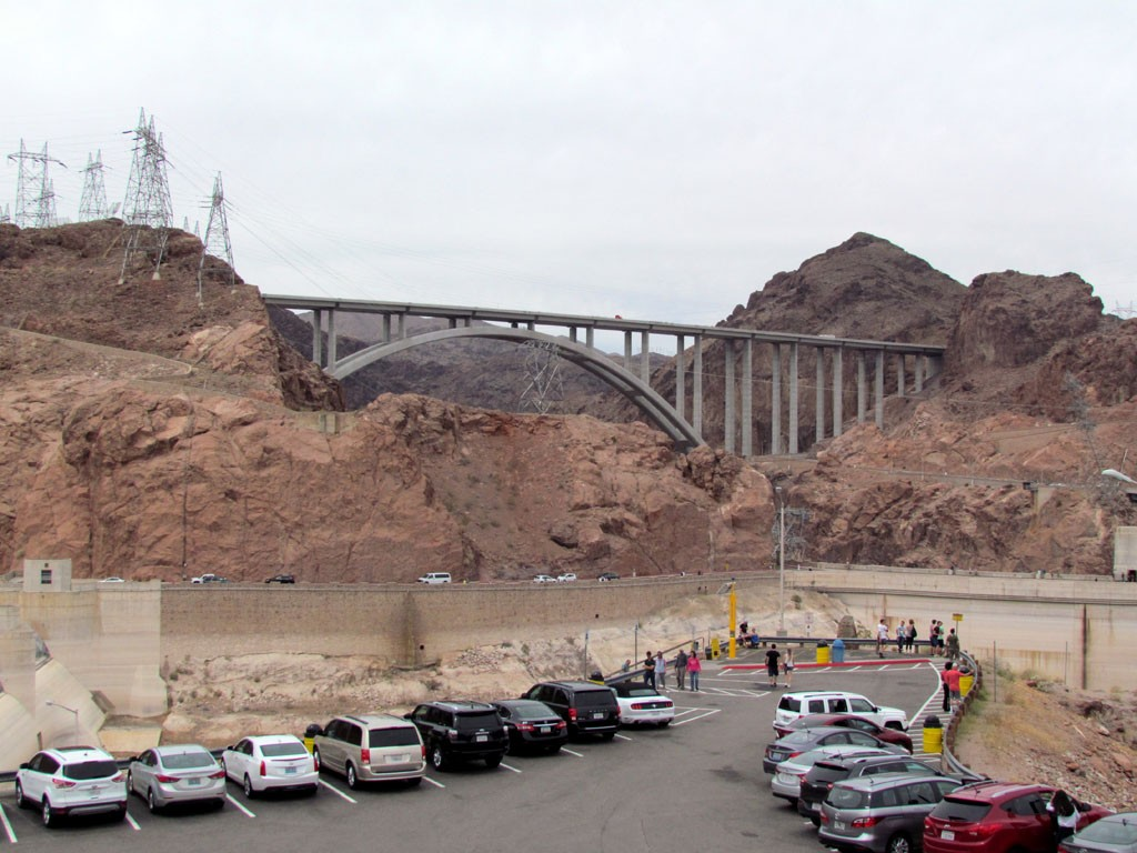 Free parking-Hoover Dam