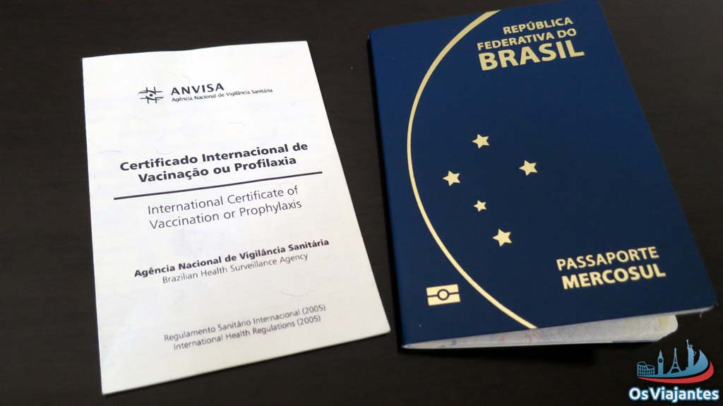International certificate of vaccination yellow fever international certificate of vaccination or prophylaxis and new brazilian passport ccuart Choice Image