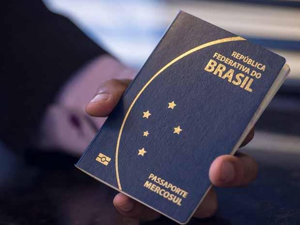 New Brazilian Passport