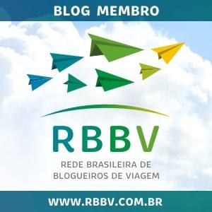 Este blog faz parte da RBBV - Rede Brasileira de Blogueiros de Viagem
